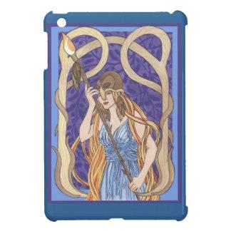 Mensajero observado búho de Athena iPad Mini Carcasa