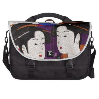 Mensajero tradicional japonés bolsas de portátil