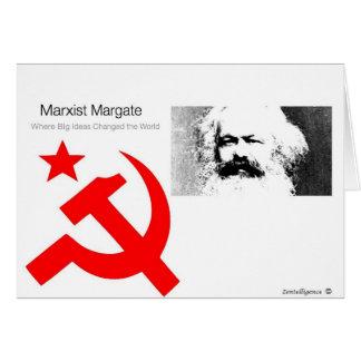 Mensajes marxistas de Margate Felicitacion