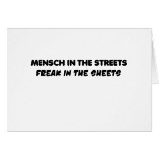 mensch card