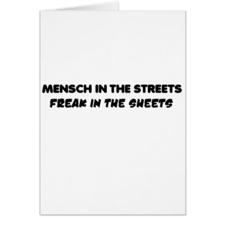 mensch greeting cards