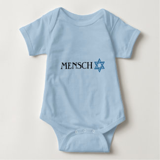Mensch with Star of David T-shirt