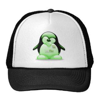 Menta de Linux con el logotipo de Tux Gorro De Camionero