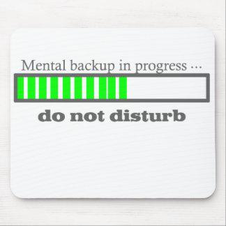 Mental backup mouse pads