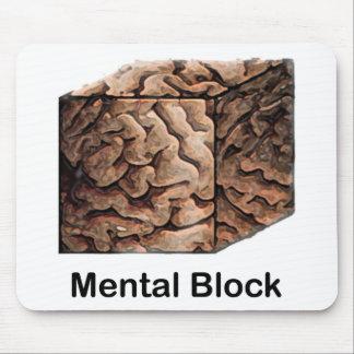 Mental Block Mouse Pad