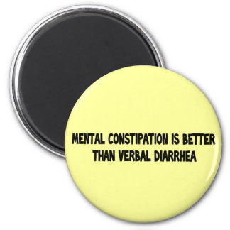 mental constipation magnet