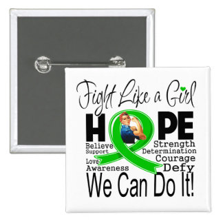 Mental Disease Fight We Can Do It Buttons