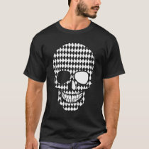 Mental Disorder Depression Support Bipolar Skull T-Shirt