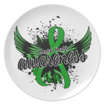 Mental Health Awareness 16 Melamine Plate