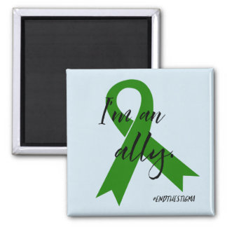 Mental Health Awareness Ally Magnet