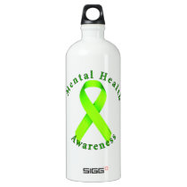 Mental Health Awareness Aluminum Water Bottle