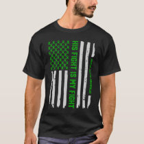 Mental Health Awareness American Flag T-Shirt Tee