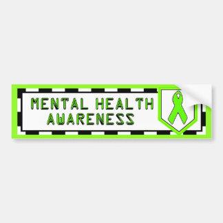 Mental Health Awareness Bumper Sticker Car Bumper Sticker