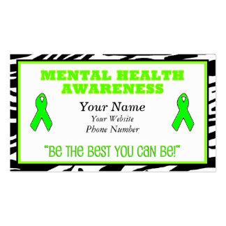 Mental Health Awareness  Business Cards