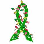 Mental Health Awareness Christmas Lights Ribbon Acrylic Cut Outs