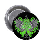 Mental Health Awareness Cool Wings 2 Inch Round Button