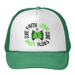 Mental Health Awareness Faith Love Cure Hat
