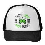 Mental Health Awareness Faith Love Cure Mesh Hats