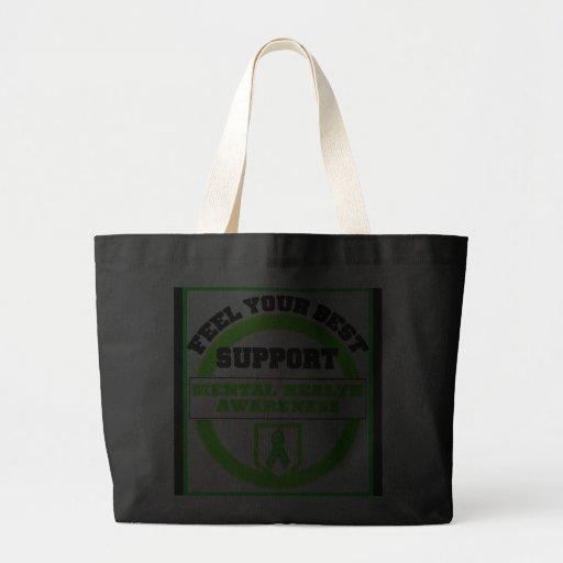 Mental Health Awareness FEEL YOUR BEST Bags