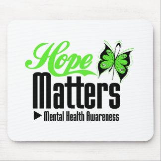 Mental Health Awareness Hope Matters Mouse Pad