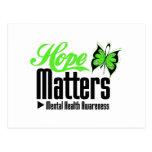 Mental Health Awareness Hope Matters Postcards