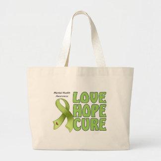 Mental Health Awareness Jumbo Tote Bag