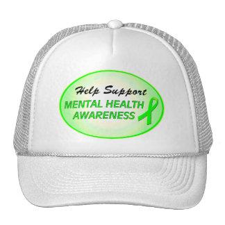 Mental Health Awareness LOVE HOPE CURE Caps Trucker Hat