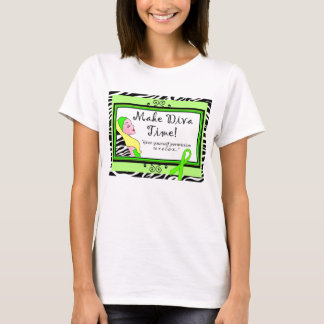 "Mental Health Awareness ""Make Diva Time"" T-Shirt"