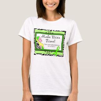 "Mental Health Awareness ""Make Diva Time"" T-Shirt"