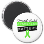 Mental Health Awareness Matters 2 Inch Round Magnet
