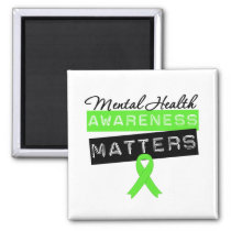 Mental Health Awareness Matters Magnet