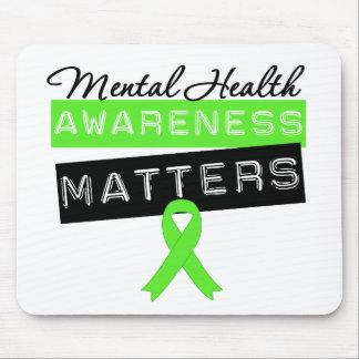 Mental Health Awareness Matters Mouse Pad