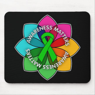 Mental Health Awareness Matters Petals Mouse Pad