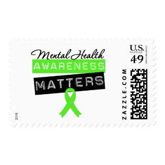 Mental Health Awareness Matters Postage Stamp