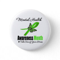 Mental Health Awareness Month Pinback Button