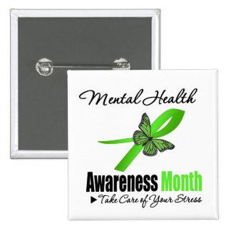 Mental Health Awareness Month Pinback Button