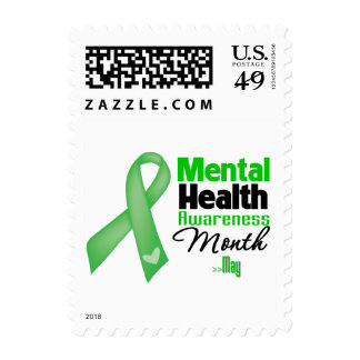 Mental Health Awareness Month Postage Stamps