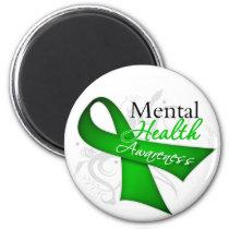 Mental Health Awareness Ribbon Magnet