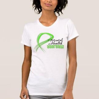Mental Health Awareness Ribbon Tee Shirts