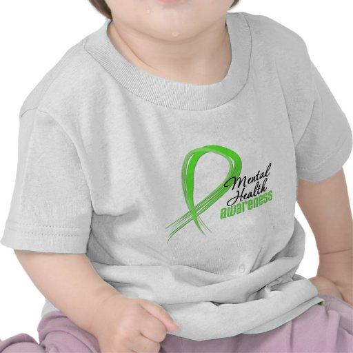 Mental Health Awareness Ribbon Tshirts