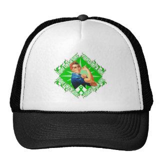 Mental Health Awareness Rosie The Riveter Trucker Hat