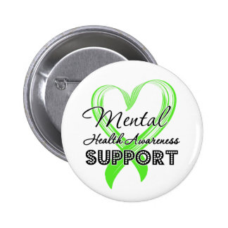 Mental Health Awareness - Support 2 Inch Round Button