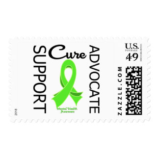 Mental Health Awareness Support Advocate Cure Stamps