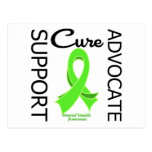 Mental Health Awareness Support Advocate Cure Postcard