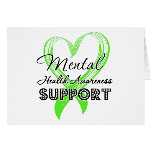 Mental Health Awareness - Support Greeting Card