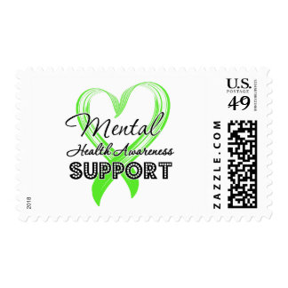 Mental Health Awareness - Support Postage Stamps