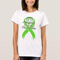 Mental Health Awareness T-Shirt Green Ribbon Gift