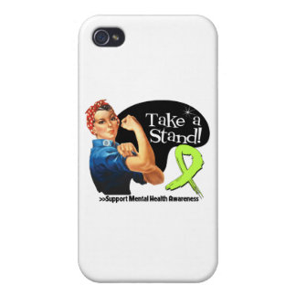 Mental Health Awareness Take a Stand iPhone 4/4S Cases