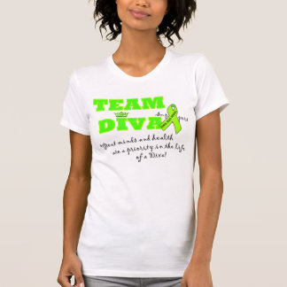 "Mental Health Awareness ""Team Diva"" T-Shirts"