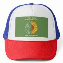 mental health awareness trucker hat